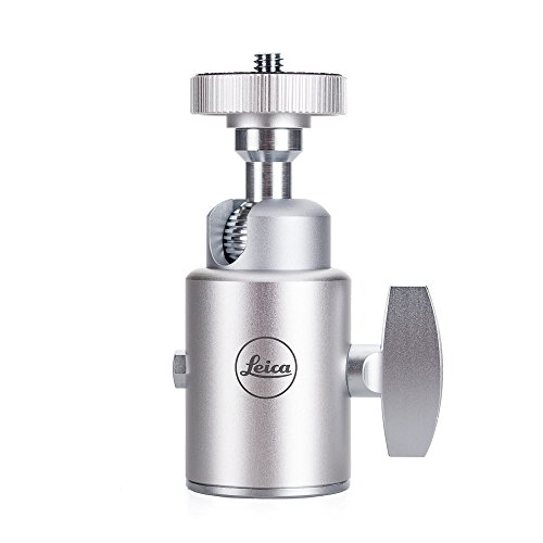 - Leica Ball Head 18 Series, Small Anodized Silver Finish