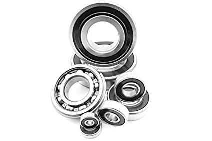Qty.2 6011-2RS Premium 6011 2rs seal bearing 6011 ball bearings 6011 RS ABEC3