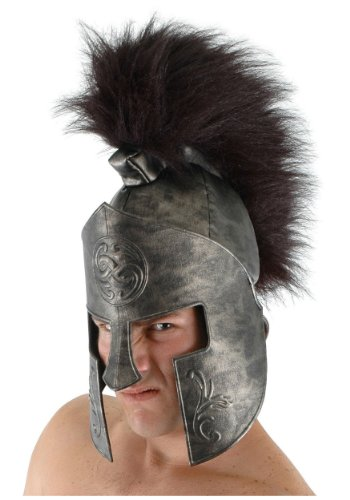Roman Spartan Costume Helmet for Adults and Kids