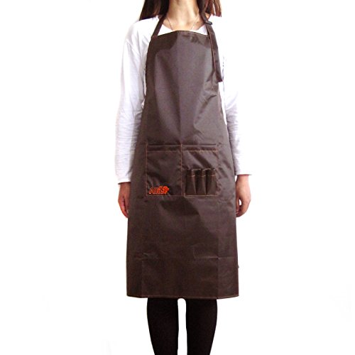 Alfie Pet by Petoga Couture - Bruno Pet Grooming Apron - Color Brown by Alfie