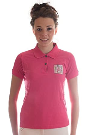 Heavenly Horse Polo Rose - Prenda para Mujer: Amazon.es: Ropa y ...