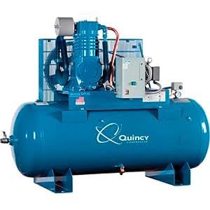amazon com quincy qt 10 splash lubricated air Champion Air Compressor Wiring Diagram Ingersoll Rand Compressor Wiring Diagram