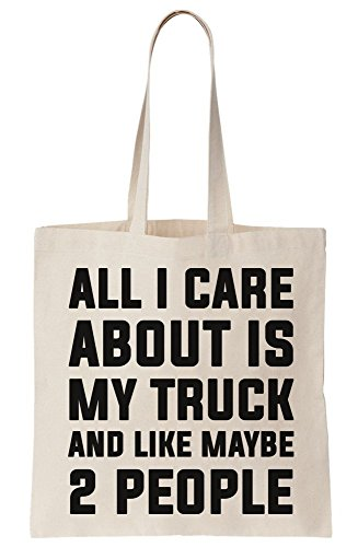 Bag Care I Like About Is All Maybe Truck Canvas People 2 Tote And My OqC56R