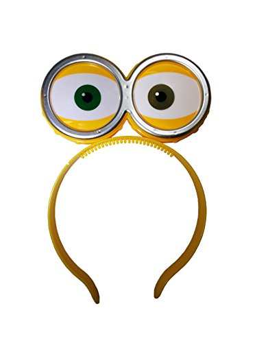 Nicky Bigs Novelties LED Light Up Eyeballs with Goggles Headband,One Size -