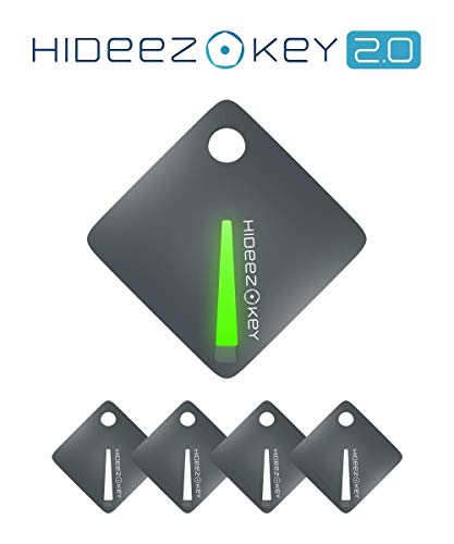 Hideez Key Set (5 pcs) Bluetooth Password Manager & Vault | Universal Security Key | RFID Token | Smart Lock | Touch Guard & Theft Alarm, Multifunctional Protection of Your Personal Information