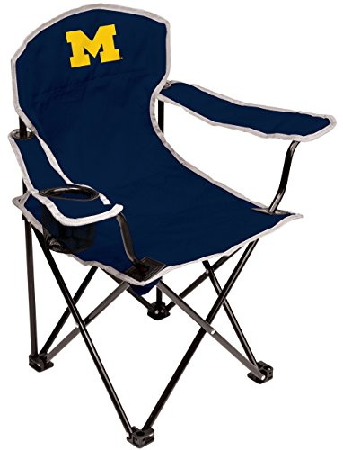 Michigan Wolverines Ncaa Collapsible - NCAA Michigan Wolverines Youth Folding Chair, Blue