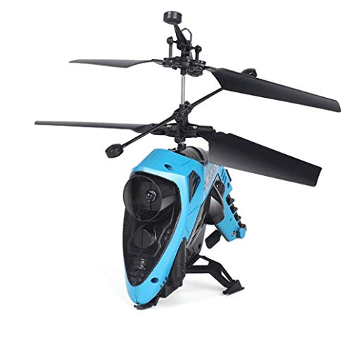 RC Remote Control Drone - Cool Infrared Induction Toy Gyro Helicopter for Kids and Adults by Pausseo (Blue) by Pausseo Toy