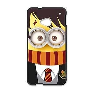 Cute Minion Black HTC M7 case