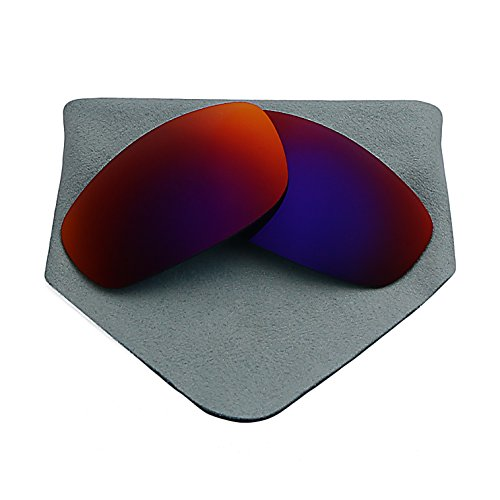 Polarized Lenses Replacement for Oakley Juliet Purple Red Mirrored (Juliet Replacement Lenses)
