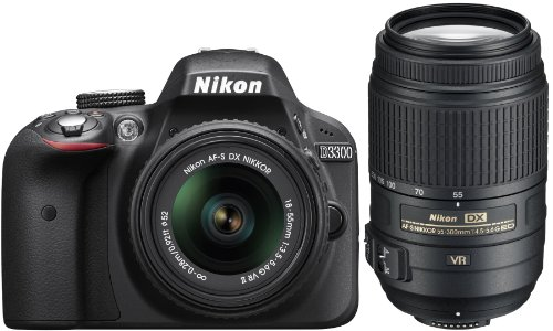 Nikon D3300 Bundle 18 55mm 55 300mm