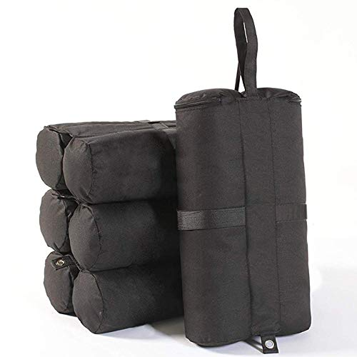 JOZZ 4 Pack Sand Bags Tent, Weights Bags Pop up Canopy Tent Weight Bags Sun shelter Hold 22lb~33lb,400 cu in Capacity