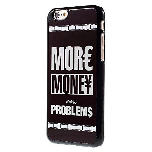 """Apple iPhone 6/6S Étui Étui de protection """"More Money More Problème decui Multicolore Plastique rigide Coque"""
