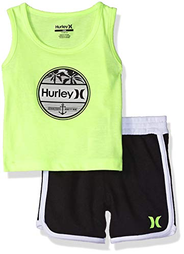 Hurley Baby Boys 2 Piece French Terry Short Set