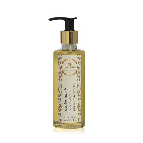 Just Herbs Tender Touch Body Massage Oil (Oil Touch Tender)