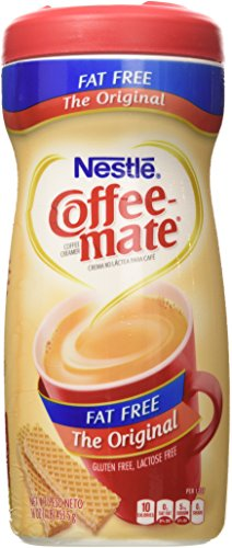 (Nestle Coffee-Mate Fat Free Original Powdered Coffee Creamer 16 Oz. - 2 Pack)