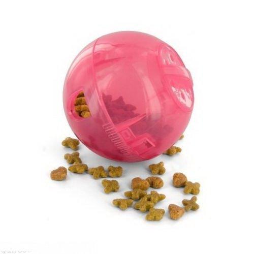 (Multivet Slimcat Cat Toy Ball & Food Dispenser - Pink)