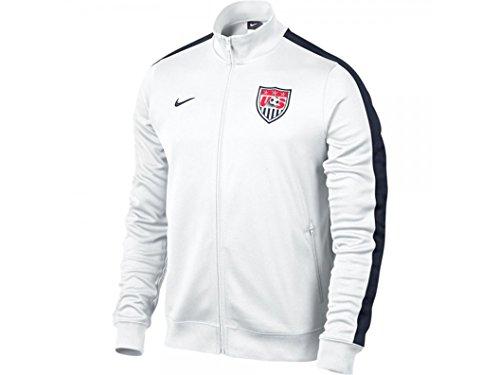 manchester united white jacket - 5