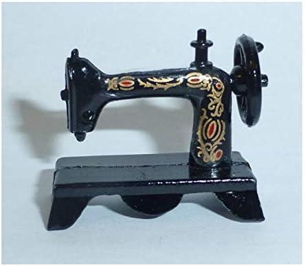 Amazon.es: Unbekannt Creal 72060 Antiguo Máquina de Coser Metall 1:12 para Casa de Muñecas: Juguetes y juegos