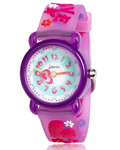 Gift for Girls Age 3-8, Kids Watch Gift for 4-9 Year Old Girl Birthday Present