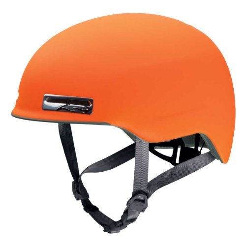 Smith Optics Maze Bike Adult MTB Cycling Helmet - Matte Neon Orange/Small