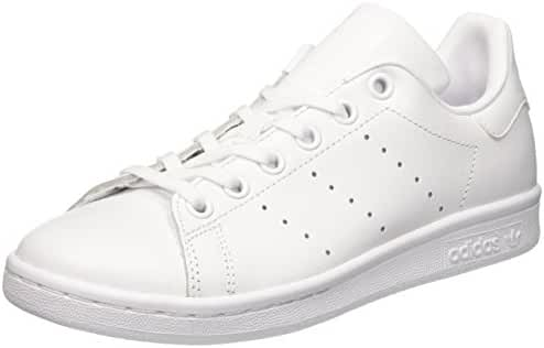 adidas Stan Smith J Kids Trainers White White - 4 UK
