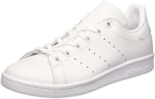 adidas Stan Smith J Kids Trainers White White - 4 UK