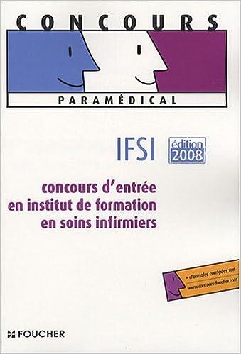Lire en ligne CONCOURS D ENTREE INFIRMIER ED 2008 (Ancienne édition) pdf, epub ebook