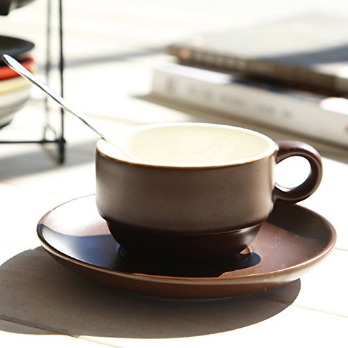 BBujsgH Ceramic Cups Of Coffee Cups Bone China Cup Of Coffee With A Scoop Disc Afternoon Tea Cup Mark , Cups Espresso Single Cup / 1 Grants Spoon