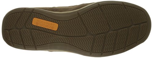 On RK6737 Sailing Rockport Slip Work Brown Shoe Club Men's Boat xTxYqRwP