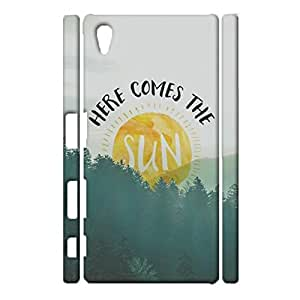Sony Xperia Z5 Cell Cover Case,Customized Elegant Funny Quotes Background Printed Shell 3D Protective Case for Sony Xperia Z5 Phone Case