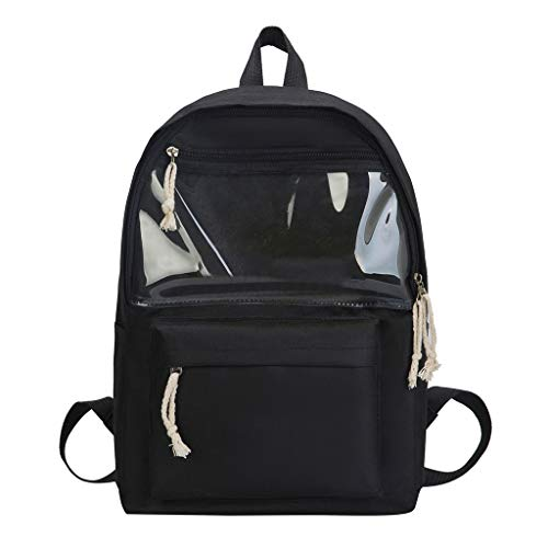Vowes Student Backpack, High Capacity Backpack for Men Women, Travel College Bookbag Back Bag,Unisex Water Resistant Casual Rucksack