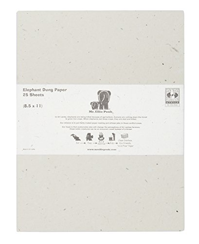 mr  ellie pooh elephant dung paper  100 sheet ream  313
