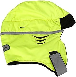 Scott Zero Doublure Hiver capuche haute visibilité Jaune, casque de sécurité thermique Premium