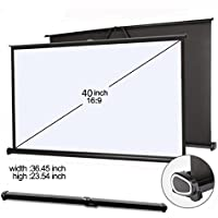 everyone gain 40 16:9 Projector HD Screen Portable Folding Table Screen (40 inch 16:9)