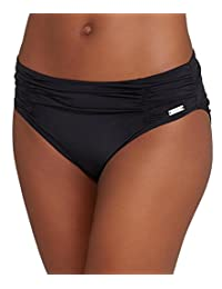 Fantasie Los Cabos Mid Rise Gathered Brief in Black (FS6155) *Sizes XS-XXL*