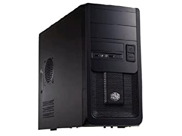 Cooler Master Elite 343 Mini-Tower Negro carcasa de ordenador - Caja de ordenador (