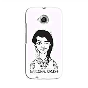Cover It Up - National Crush Moto E2 Hard Case