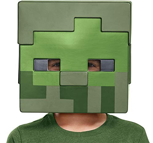Disguise Child Minecraft Zombie Movie Theme Party Halloween Costume Half -
