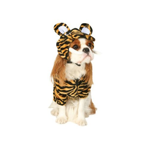Prehistoric Sabertooth Tiger Dog Pet Costume Size X-Small ()