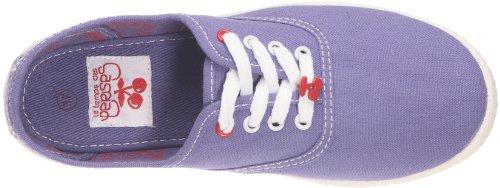 Le Temps des Cerises - Zapatillas de tela para mujer Morado (Violett (Purple))