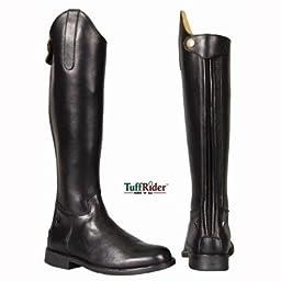 TuffRider Children\'s Baroque Dress Boots, Black, 13 Slim Regular