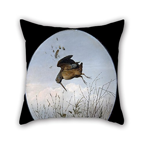 Beautifulseason Pillowcover Of Oil Painting Thomas Hewes Hinckley - Woodcock 16 X 16 Inches / 40 By 40 Cm,best Fit For Bedding,kids,seat,office,boy Friend,kids Room 2