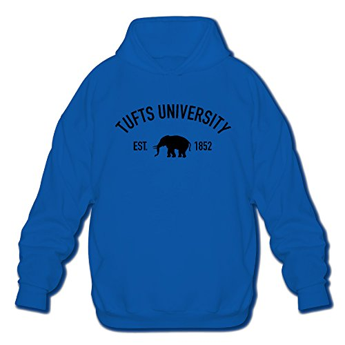 Men's Long Sleeve Tufts University Established 1852 Lightweight Hoodie]()