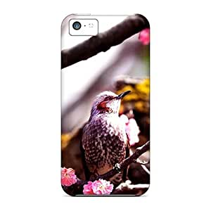 New Emrbiiw3842GdaMq Spring Bird Cover Case For Iphone 5c