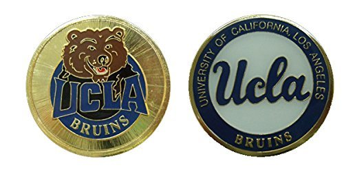 Collectible Challenge Coin- Logo Poker - Lucky Chip for University of California, Los Angeles