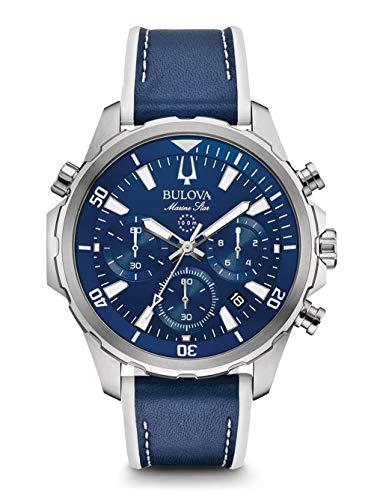 Bulova Men's Marine Star - 96B287 Blue One Size