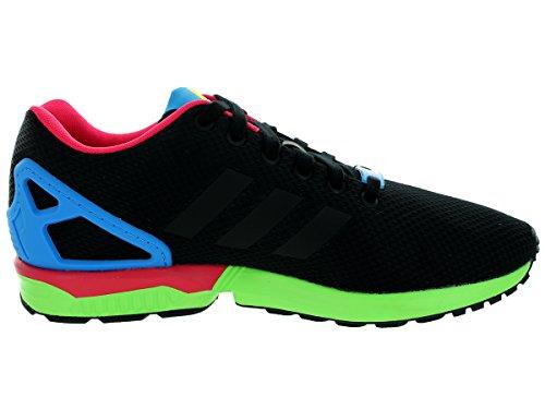 Adidas Zx Flödes Mens Löparskor Kärna Svart / Sol Grön B34490 Svart / Kärna Svart / Sol Grön