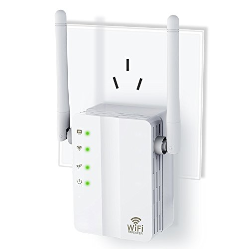WiFi Range Extender, Awakelion 300Mbps Fast Speed WiFi Booster With Repeater/Access Point/Router Mode ,360 Degree Full WiFi Coverage ,Easily Set Up … (White) (Point Ssid Access)