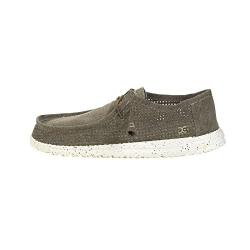 Marrone HEY DUDE PERFORATED marca color uomo Marrone WALLY Marrone Scarpe Uomo Scarpe HEY DUDE modelo qcRIE7