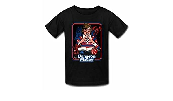 Lazy Tribe Dungeon Master Fashionable Short Sleeve T-Shirt for Teenagers
